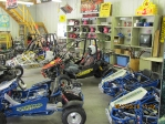 Country Carts large Showroom