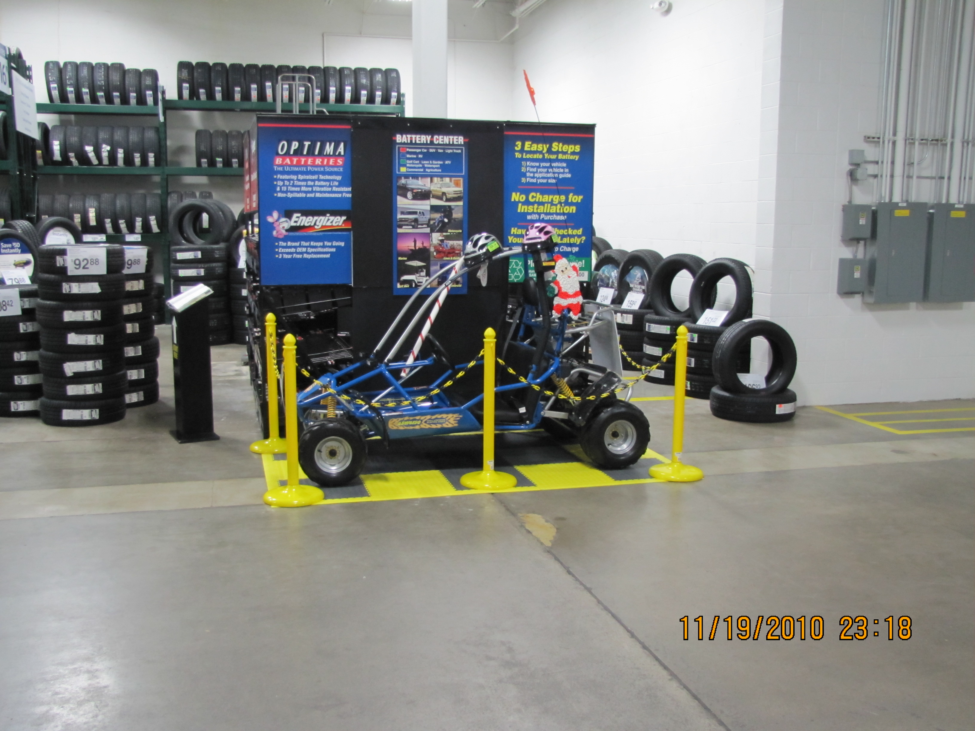 Country Go Carts at Sam's Club Fort Wayne, IN