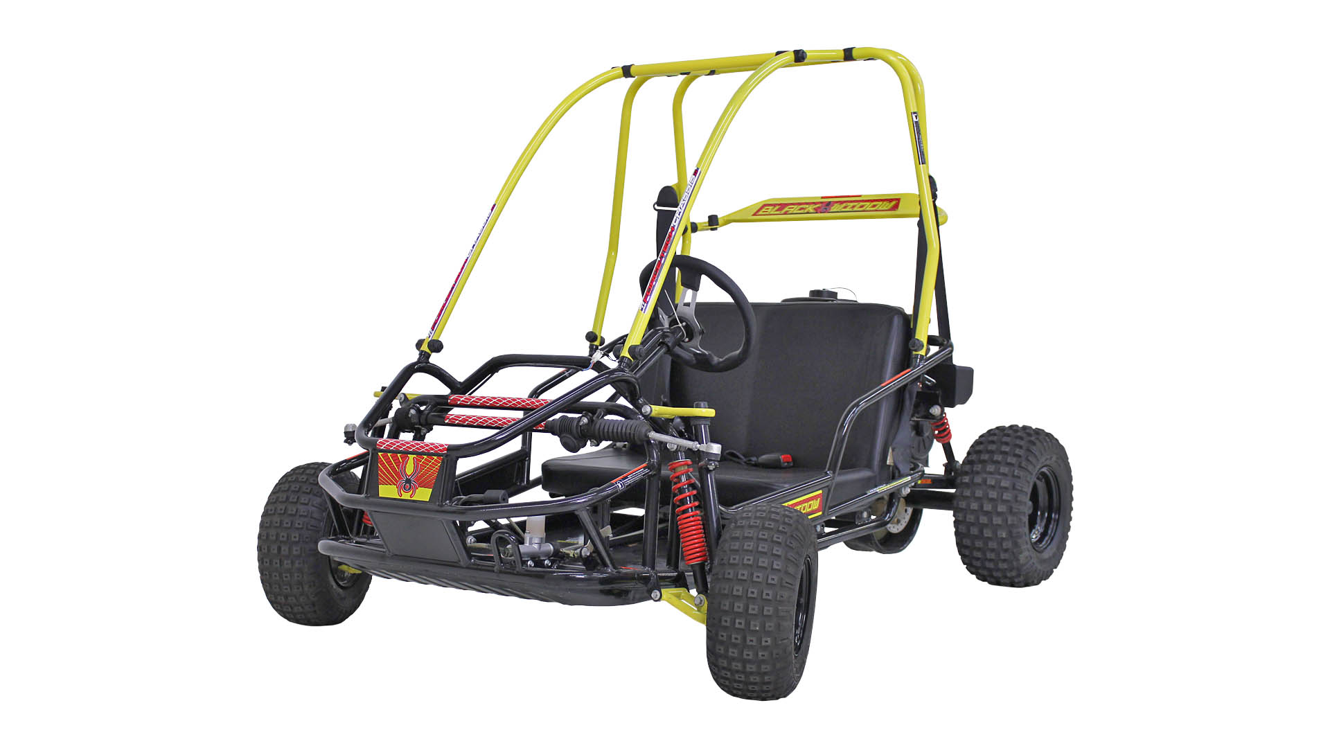 American Sportworks Black Widow Off Road Go Kart