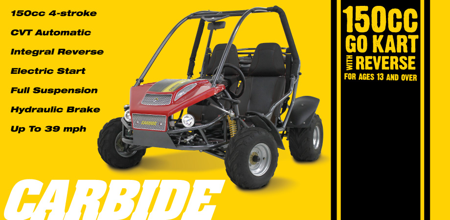 American Landmaster Carbide Off Road Go Kart